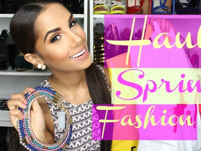 Spring Fashion HAUL | (Try On) Romwe, F21, H&M, Home Decor