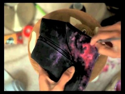 The Original DIY Nebula wedges by Kustom Kix - Speed Painting