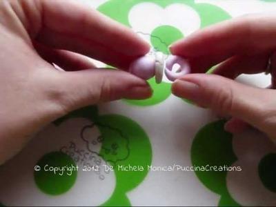 Tutorial Ciuccio - Pacifier (Fimo.Cernit.Premo.Polymer Clay)
