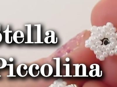 """Tutorial Perline: orecchini """"Stellina"""", very easy! Tutorial in collaborazione con Perlinegioielli.it"""