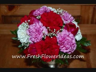 Floral Design: Fresh Flowers for Valentine's Day
