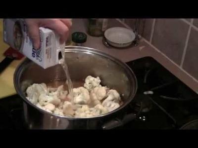 How to make Cauliflower Soup