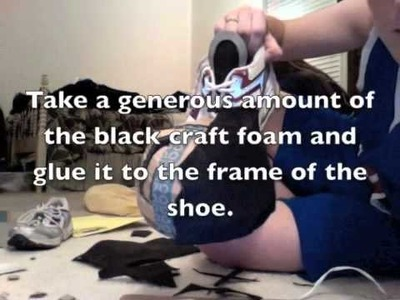 How to Make Sora's Shoes