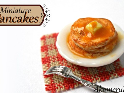 Miniature Pancakes - Polymer clay tutorial