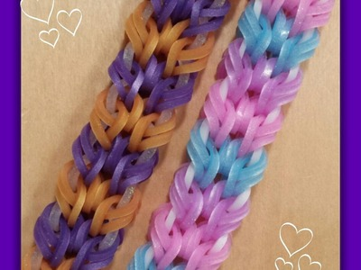 "New ""In The Loop"" Rainbow Loom Bracelet.How To Tutorial"