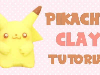 Pikachu Polymer Clay Tutorial | Pokemon Collab with Polymomotea