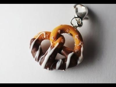 Pretzel Tutorial, Miniature Food Tutorial, Polymer Clay Tutorial