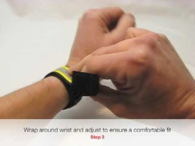 Sport ID Wristband - How To Fit
