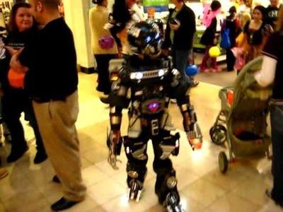 Transformer costume H2 Hummer West Town Mall Halloween 2009 Part 1
