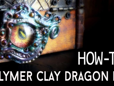 Tutorial - Polymer Clay Dragon Eye (Part 1)
