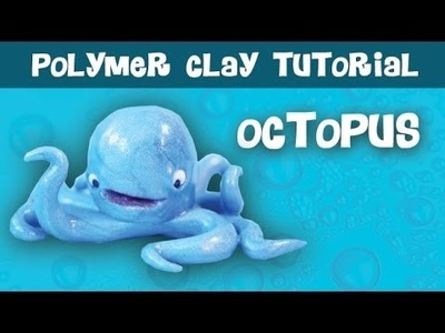 Under the Sea Polymer Clay Series [3 of 3] Octopus