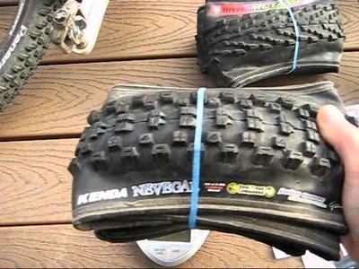 A few Mountain bike XC tires to consider