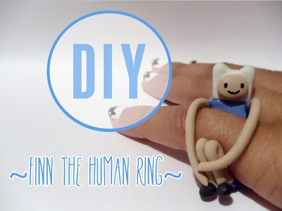 Adventure Time Finn Ring Tutorial [Polymer Clay ^_^]