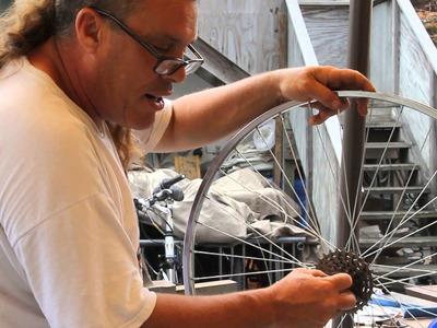 Bicycle Wheel Anatomy - Hub Axle Spokes Rim - DIY Bike Repair - BikemanforU