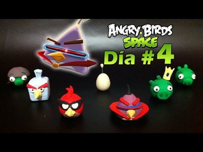 Bird Laser Angry Birds Space - Polymer Clay