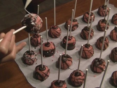 Cake Pops Party Favor - How to Make