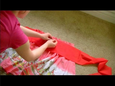 Chic on the Cheap: Make an Apron from a Skirt