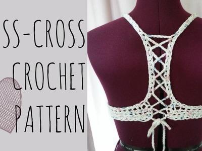 Crochet Criss-Cross Top Pattern