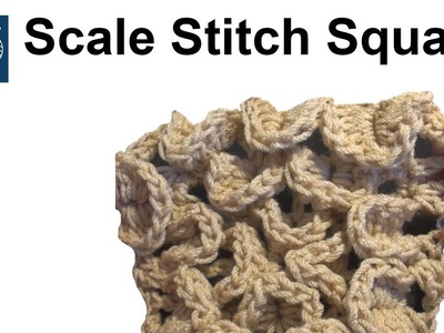 Crochet Crocodile Stitch - Left Hand Crochet Geek