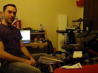DIY Drum Trigger vs DDrum Red Shot