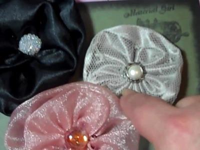 Handmade flowers for Kathy
