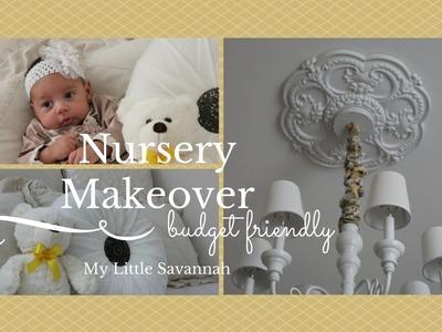 HOME DECOR: Nursery Makeover & Duvet Cover Give-a-way