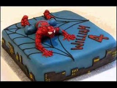 How Do You Make A Spiderman Cake