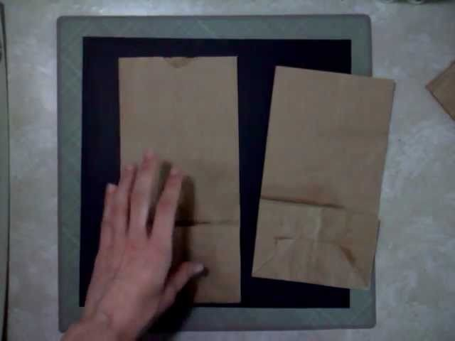 How To Assemble a Paper Bag Album (Part 1)