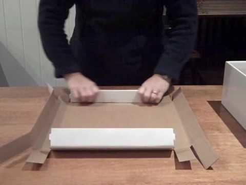 How To Fold  Cardboard Box  CTP325-295-15