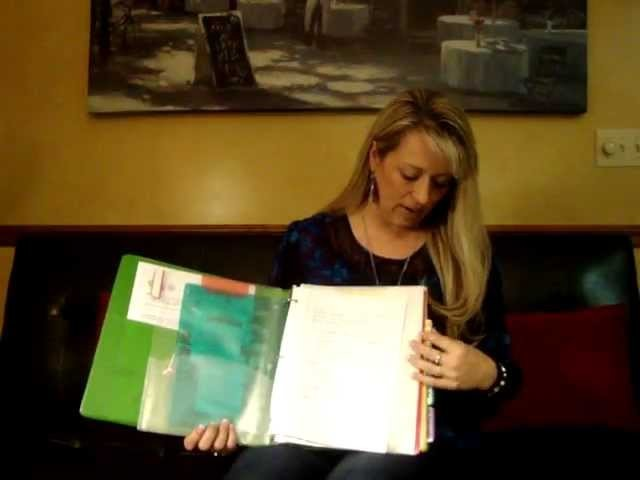 How To Make a Christmas Planner. Organizer
