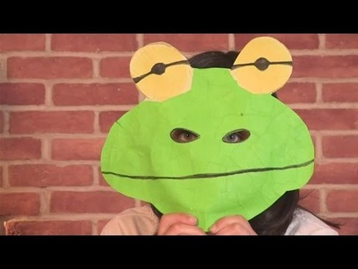 How To Make A Frog Mask