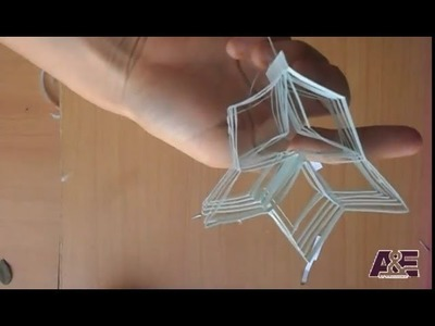 How To Make A Lucky Star Kirigami Paper Caft