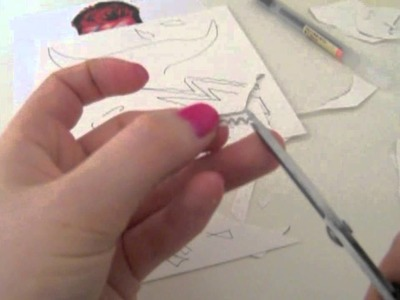How to make a paper relief and rubbing
