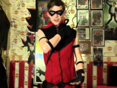 How to Make a Red Arrow Costume