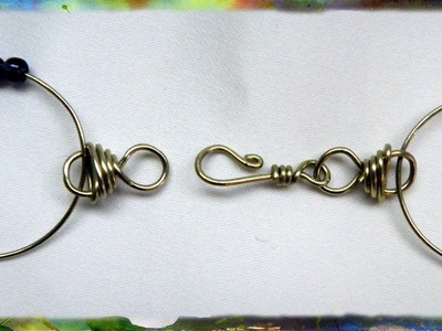How to Make A Simple Jewelry Clasp, Part 2