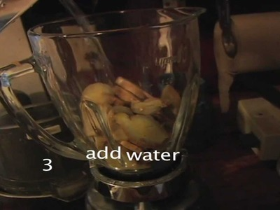 How to Make Ginger Juice (Ginger-Ade, Ginger Water)