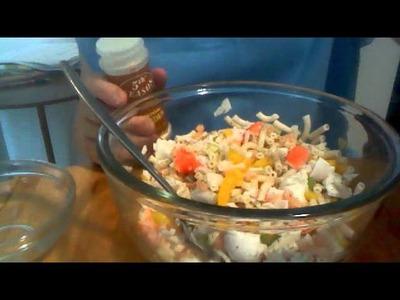 How to make Seafood Salad