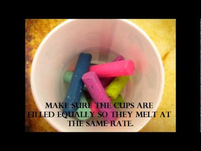 How to Recycle your Crayons (don't hate, it's really fun!)