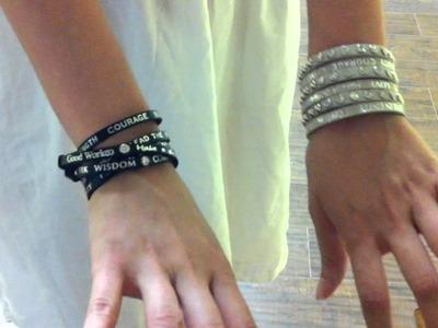 """How To"" Wrap Around Bracelet GoodWork(s)"