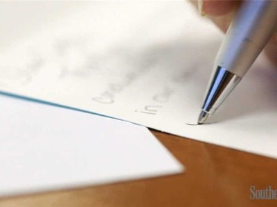 How To Write a Thank You Note | Southern Living