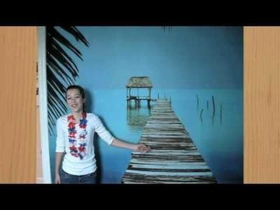 Jane's Room Décor: A Hawaiian Paradise | PBteen