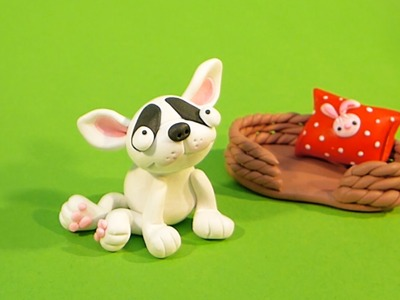 LET'S CLAY! French BULLDOG - tutorial polymer clay