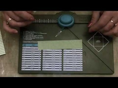 Lets Make Series 17 - A Mini Bow using the Envelope Punch Board