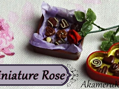 Miniature Rose Tutorial - Polymer clay