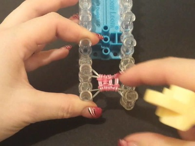 """New """"Both Sides Now"""" Rainbow Loom Bracelet.How To Tutorial"""