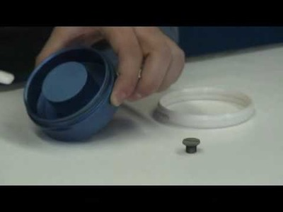 Pad Printing Ink Cup Assembly: How to Change Ceramic Rings with Ring Tool from Inkcups Now