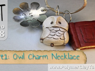 Polymer Clay Owl Charm Necklace Tutorial Series (Intro)