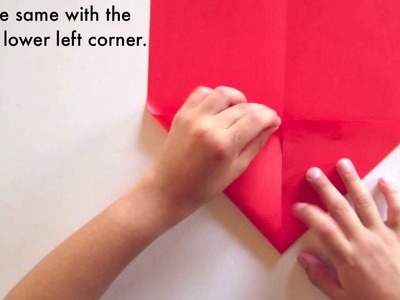 PowerUp Electric paper airplane - Folding steps and prep