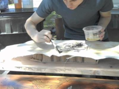 Rice Paper Graphic (Under Fiberglass) Tutorial