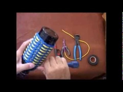 The Paracord Weaver: How To - Water Bottle Wrap - Part 5
